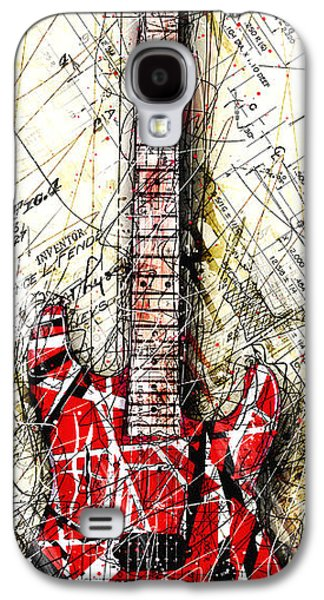Eddie's Guitar Vert 1a Galaxy S4 Case