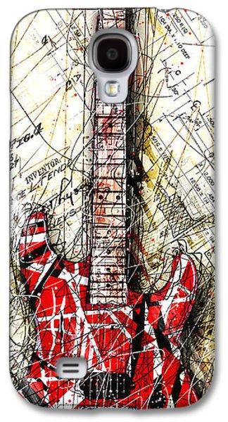 Eddie's Guitar Vert 1a Galaxy S4 Case by Gary Bodnar