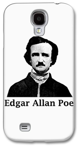 Edgar Allan Poe Galaxy S4 Case by War Is Hell Store