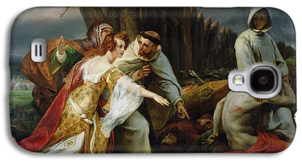 Edith Finding The Body Of Harold Galaxy S4 Case by Emile Jean Horace Vernet