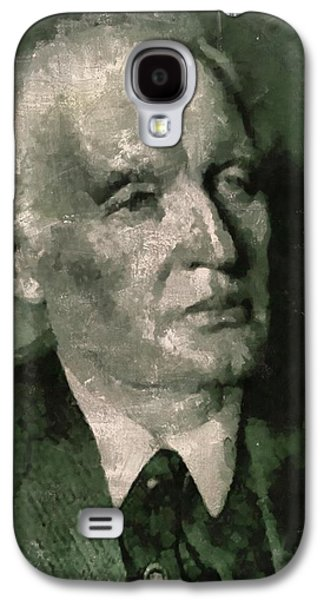 Edvard Munch, Artist Galaxy S4 Case by Mary Bassett