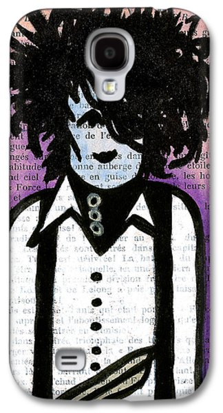 Character Portraits Drawings Galaxy S4 Cases - Edward Galaxy S4 Case by Jera Sky