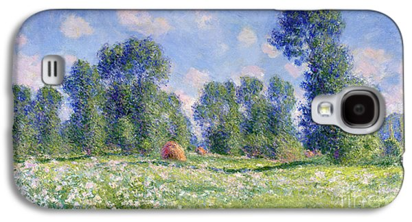Effect Of Spring At Giverny Galaxy S4 Case by Claude Monet