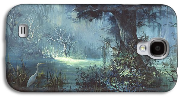 Egret In The Shadows Galaxy S4 Case