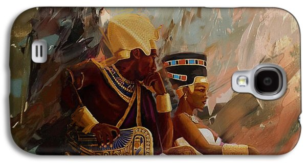 Egyptian Culture 44b Galaxy S4 Case by Corporate Art Task Force