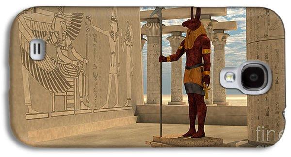 Egyptian God Seth Galaxy S4 Case