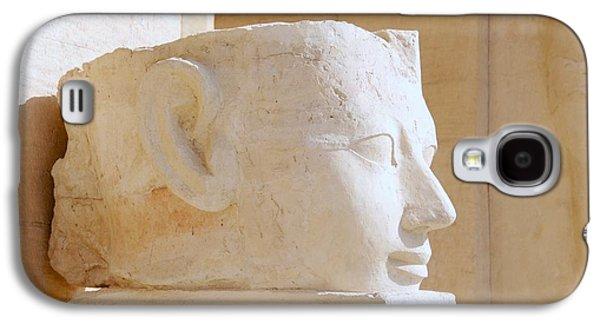Egyptian Queen Hatchepsut Head Galaxy S4 Case by Sherry Pratt