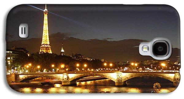 Eiffel Tower By Night Galaxy S4 Case