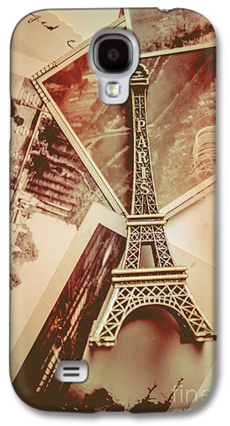 Eiffel Tower Old Romantic Stories In Ancient Paris Galaxy S4 Case by Jorgo Photography - Wall Art Gallery