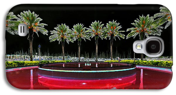 Eight Palms Drinking Wine Galaxy S4 Case by David Lee Thompson