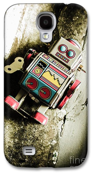 Eighties Cybernetic Droid  Galaxy S4 Case by Jorgo Photography - Wall Art Gallery