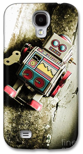 Eighties Cybernetic Droid  Galaxy S4 Case