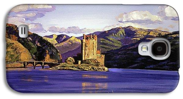 Eilean Donan Castle Galaxy S4 Case by David Lloyd Glover