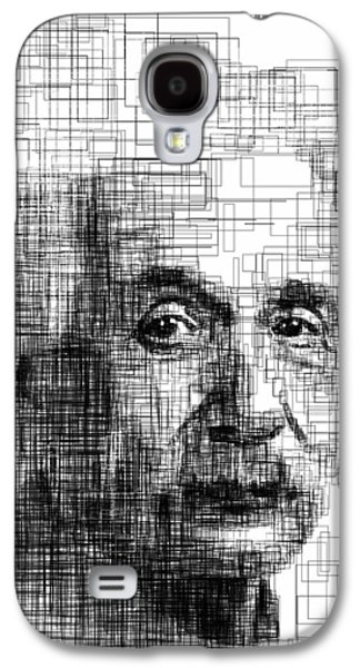 Einstein  Galaxy S4 Case by Harold Belarmino
