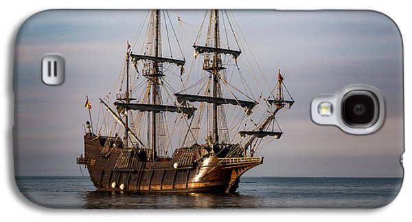 El Galeon Andalucia Tall Ship Galaxy S4 Case by Dale Kincaid