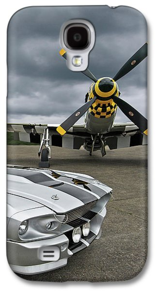 Eleanor Mustang With P51 Galaxy S4 Case