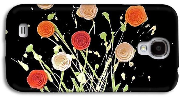 Electric Bouquet Galaxy S4 Case by Jilian Cramb - AMothersFineArt