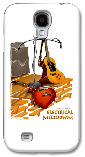 Electrical Meltdown Se Galaxy S4 Case by Mike McGlothlen