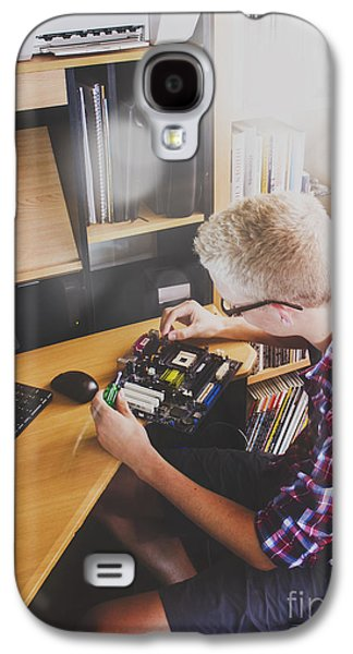 Electronic Engineer In Training Galaxy S4 Case by Jorgo Photography - Wall Art Gallery