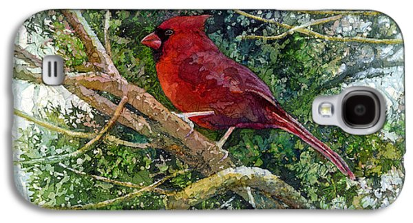 Elegance In Red Galaxy S4 Case by Hailey E Herrera