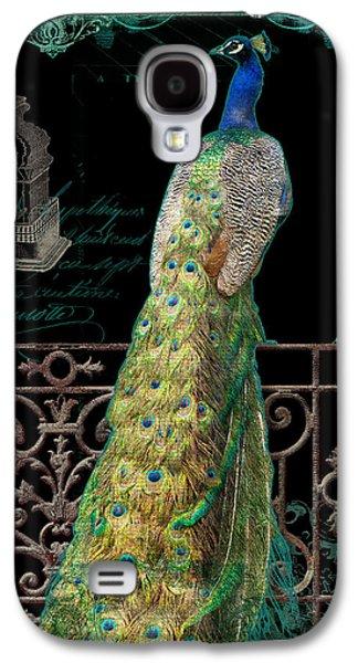 Elegant Peacock Iron Fence W Vintage Scrolls 4 Galaxy S4 Case