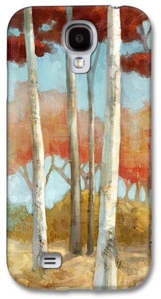Elegantredforest Galaxy S4 Case by Mauro DeVereaux