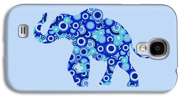 Elephant - Animal Art Galaxy S4 Case by Anastasiya Malakhova