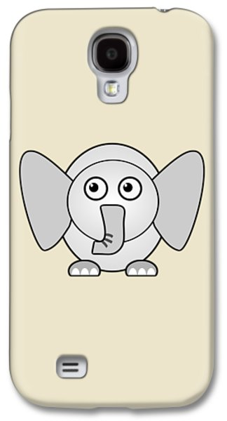 Elephant - Animals - Art For Kids Galaxy S4 Case by Anastasiya Malakhova