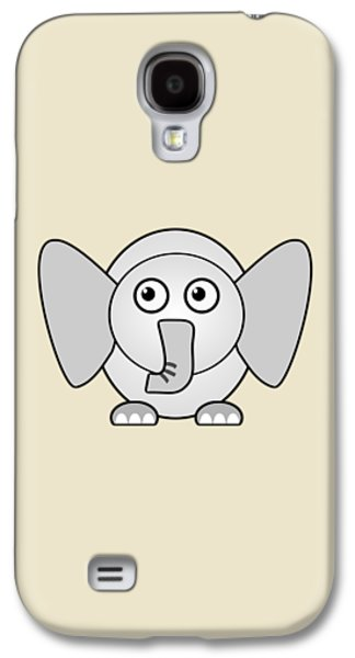 Elephant - Animals - Art For Kids Galaxy S4 Case