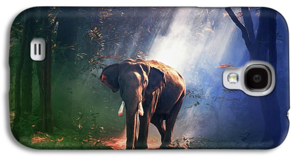 Elephant In The Heat Of The Sun Galaxy S4 Case