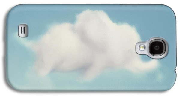 Elephant In The Sky - Square Format Galaxy S4 Case by Amy Tyler