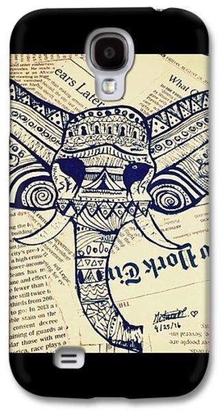 Elephant Parade  Galaxy S4 Case