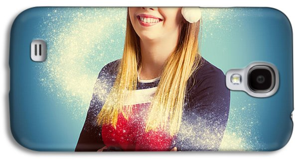 Elf Wrapped Up In The Magic Of Christmas Galaxy S4 Case