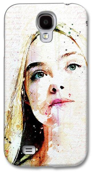 Eliannah Vernal Blush Galaxy S4 Case by Gary Bodnar