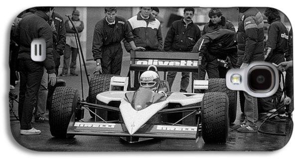 Elio De Angelis. 1986 Galaxy S4 Case by Oleg Konin