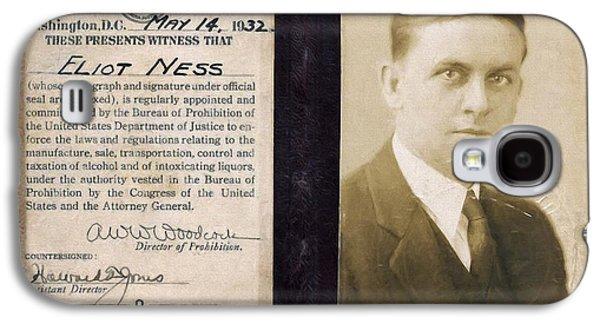 Eliot Ness - Untouchable Chicago Prohibition Agent Galaxy S4 Case