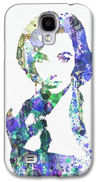 Elithabeth Taylor Galaxy S4 Case by Naxart Studio