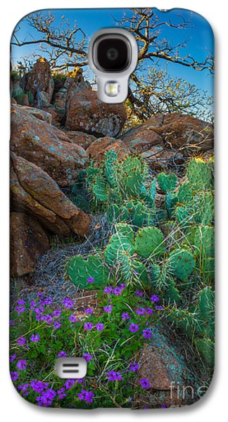 Elk Mountain Flowers Galaxy S4 Case by Inge Johnsson