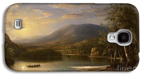Scotland Galaxy S4 Case - Ellen's Isle - Loch Katrine by Robert Scott Duncanson