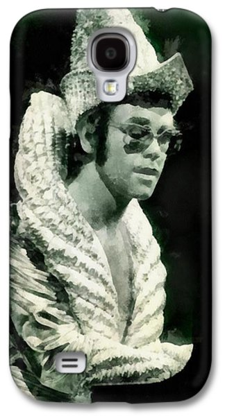 Elton John By John Springfield Galaxy S4 Case by John Springfield