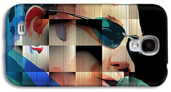 Elton John In Cubes 1 Galaxy S4 Case by Yury Malkov