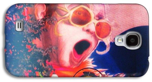 Elton John Then And Now Galaxy S4 Case