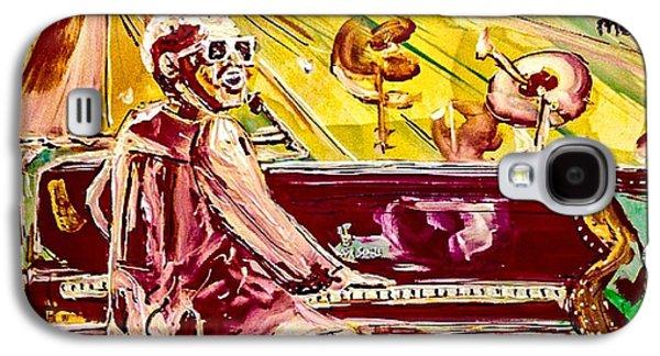 Elton Galaxy S4 Case by Paula Baker