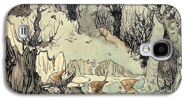 Elves In A Wood Galaxy S4 Case