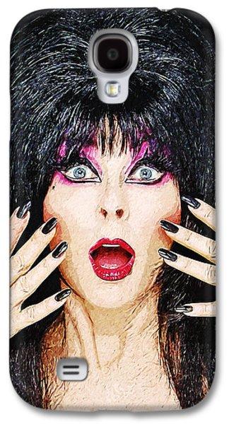 Elvira - Mistress Of The Dark Galaxy S4 Case by Taylan Apukovska