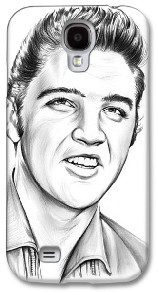 Rock And Roll Galaxy S4 Case - Elvis by Greg Joens