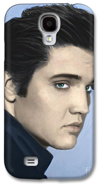 Elvis Galaxy S4 Case by Paul Tagliamonte