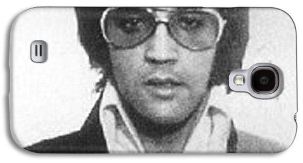 Elvis Presley Mug Shot Vertical Galaxy S4 Case by Tony Rubino