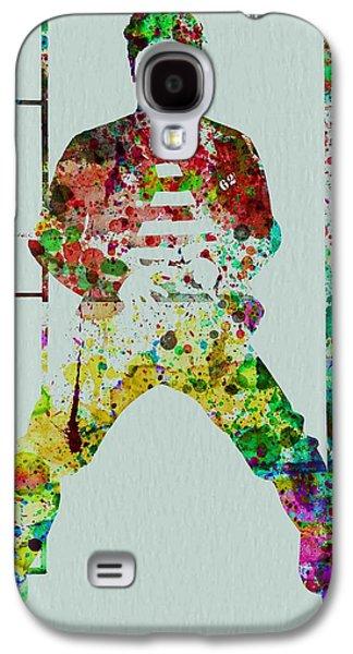 Elvis Presley Galaxy S4 Cases - Elvis Presley Galaxy S4 Case by Naxart Studio
