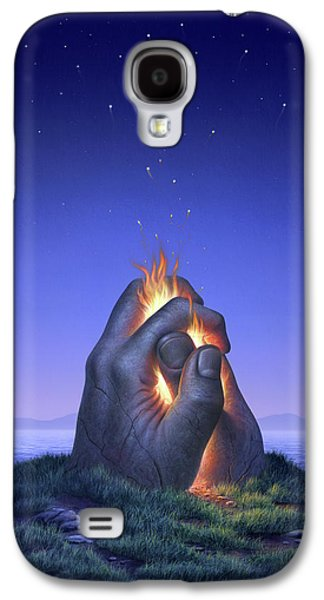 Embers Turn To Stars Galaxy S4 Case